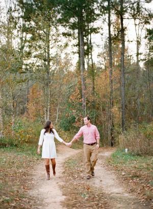 Sweet Fall Engagement Shoot by Melissa Schollaert Photography 17