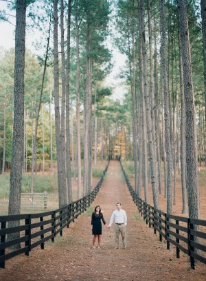 Sweet Fall Engagement Shoot by Melissa Schollaert Photography 5