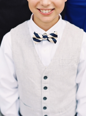 Vest and Bowtie Ringbearer Outfit