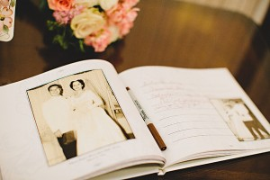 Vintage Photography Guest Book