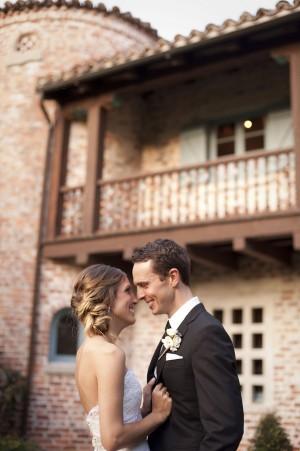 Wedding Couple Portrait by Stephanie A