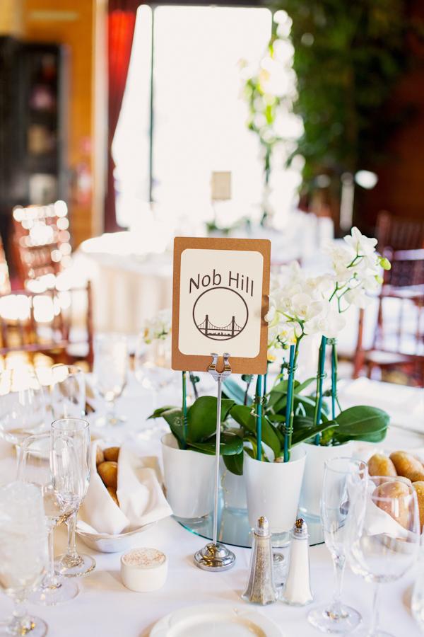 White Orchid Wedding Centerpieces Elizabeth Anne Designs The