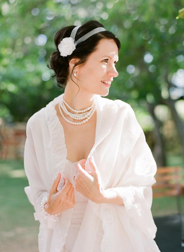 Bridal Flower Headband Hair Ideas