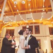 Sting Lights Wedding Reception Decor