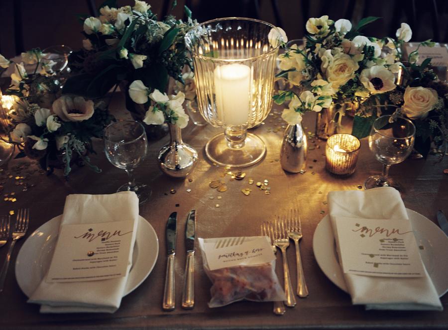 Candlelit Wedding Reception Decor Elizabeth Anne Designs The