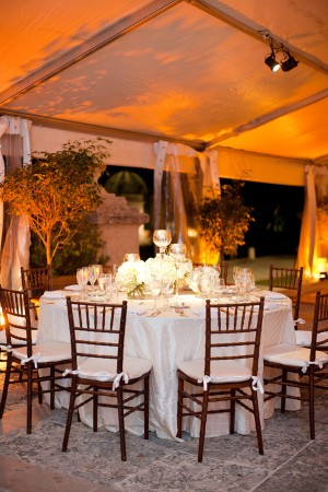 Candles in Wedding Reception Decor