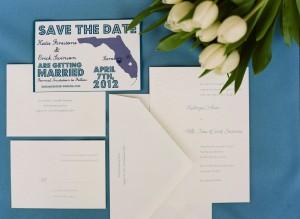 Casual Wedding Stationery