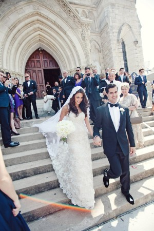 Cathedral Wedding Exit