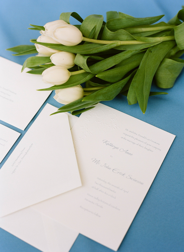 Classic Black and Gray Wedding Invitations