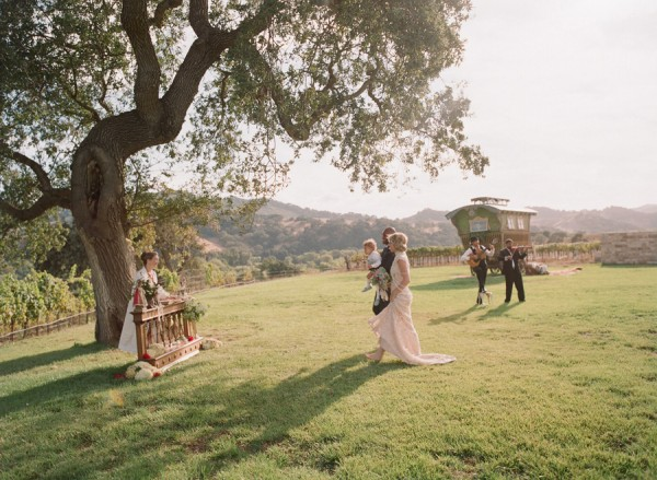 Classic Outdoor Wedding Ceremony