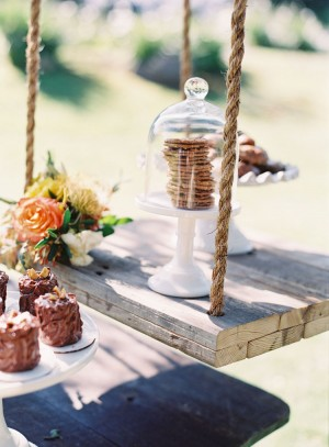 Cookie Display Wedding Reception