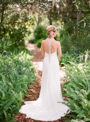 Crystal Embellished Wedding Gown 2