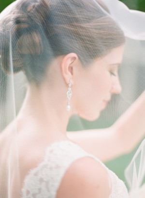 Curled Updo Bridal Hair Ideas 1