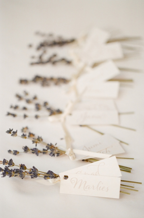 Dried Lavender Wedding Favors