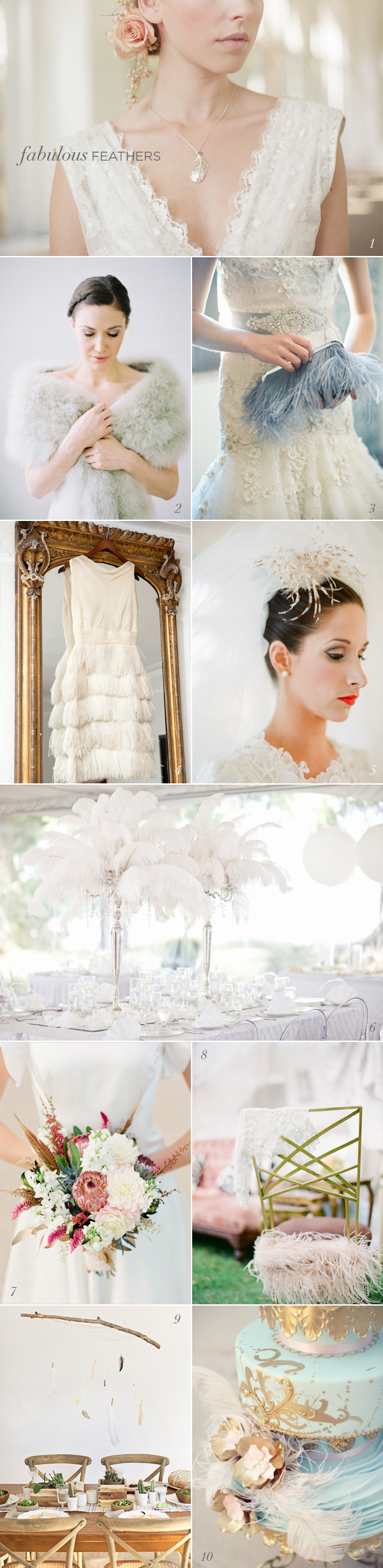Feather Wedding Details