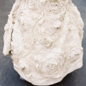 Flower Detail Bridal Gown