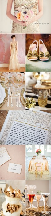 Glitter Gold Wedding Inspiration