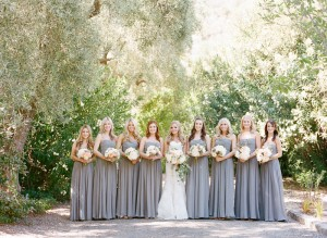 Gray and Pink Wedding Color Palette