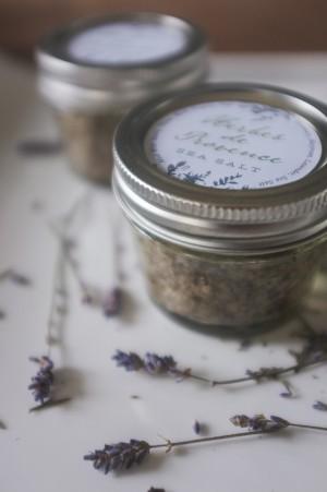 Lavender Salt Favor