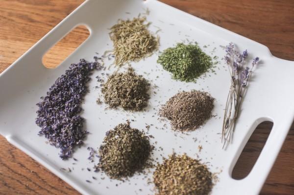 Herbed Salt Wedding Favors