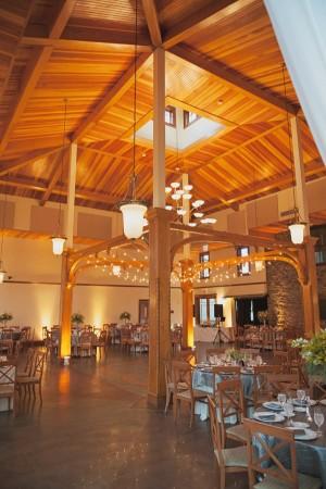 Indoor Rustic Reception Venue Ideas