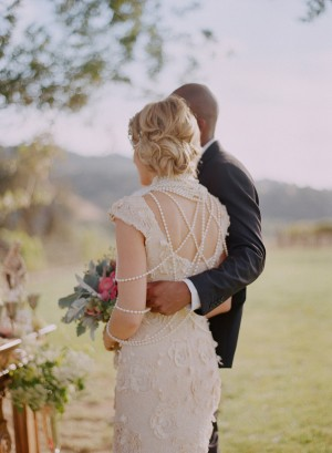 Ivory Lace Wedding Dress 2