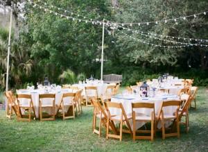 Lighting For Outdoor Wedding Receptions