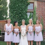 Lilac Bridesmaids Gowns