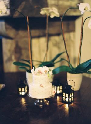 Miniature White Wedding Cake