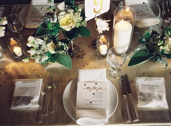 Modern Elegant Wedding Place Setting - Elizabeth Anne Designs: The ...