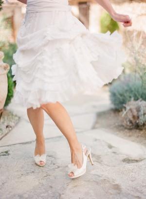 Morgane LeFay Short Wedding Dress