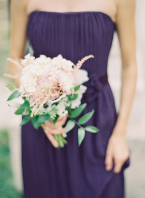 Pink and Green Bridesmaids Bouquet