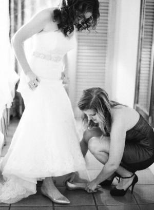 Pointy Toe Bridal Flats