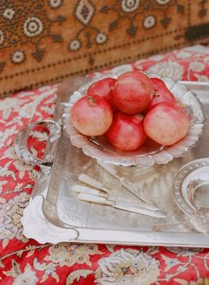 Pomegranate Centerpiece