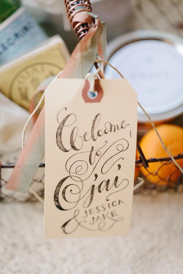 Pretty Wedding Calligraphy