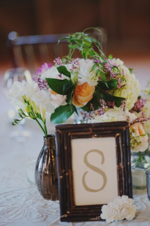 Reception Table Number in Wood Frame