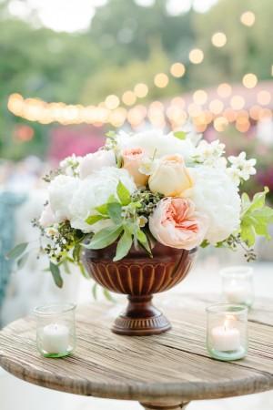 Rose Wedding Centerpiece