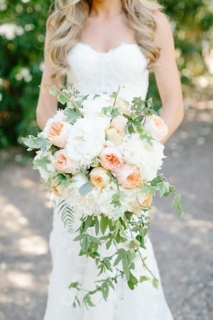 Rose and Vine Wedding Bouquet