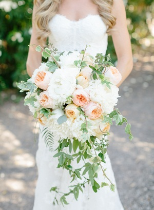 Rose and Vine Wedding Bouquet1