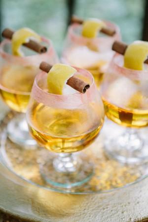 Signature Cocktail Winter Wedding