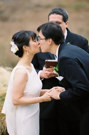 Sleeveless Sheath Wedding Gown 1