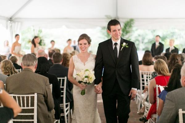 Sleeveless V Neck Lace Wedding Gown 3