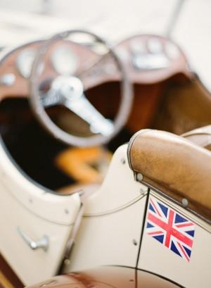 Vintage Car Wedding Transportation