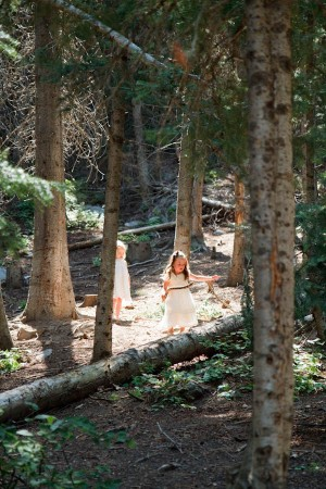 Woodsy Natural Outdoor Wedding by Kate Osborne Photography 1