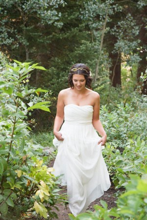 Woodsy Natural Outdoor Wedding by Kate Osborne Photography 8