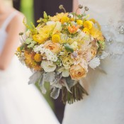 Yellow and Peach Bouquet