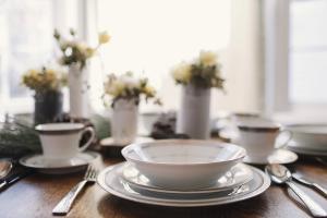 wedding brunch table set china