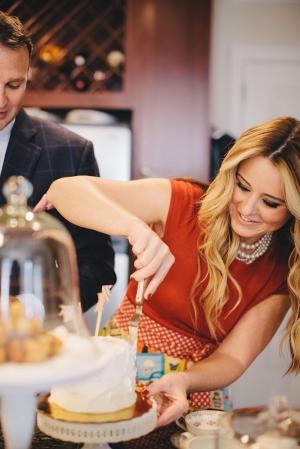 Baking Engagement Shoot