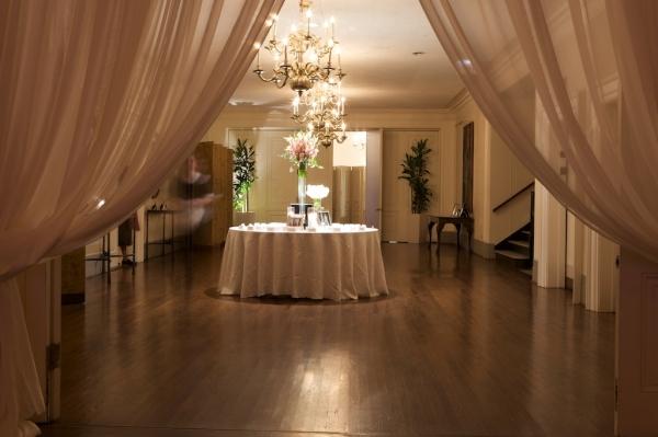 Ballroom Reception Entry Decor