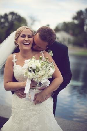 Beaded Belt Wedding Dress